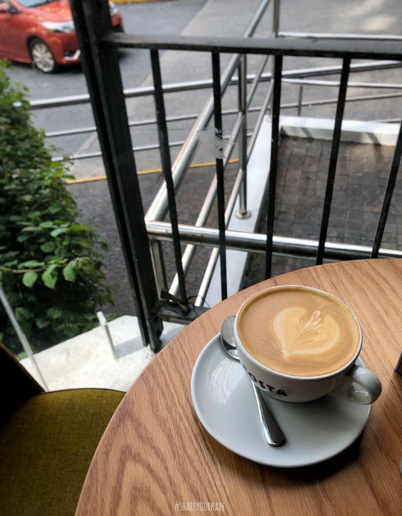 shareyourkape Costa Coffee flat white