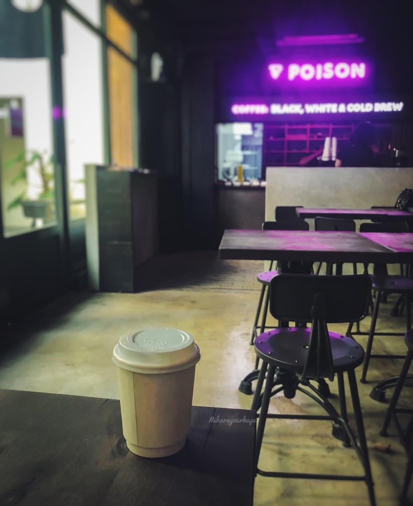 #shareyourkape #poisondoughnuts #coldbrewcoffee