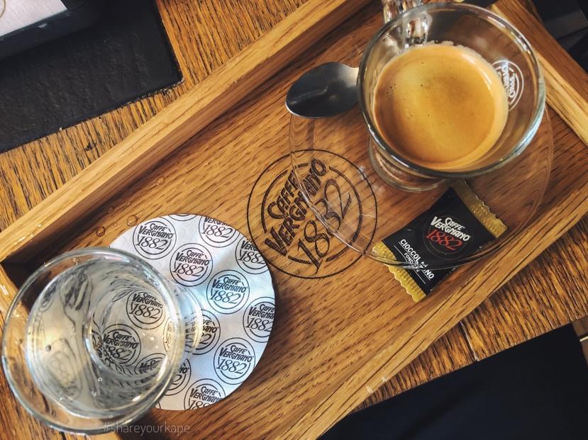 #shareyourkape #caffevergnano #londonbaby #kapesalondon #espressobaby