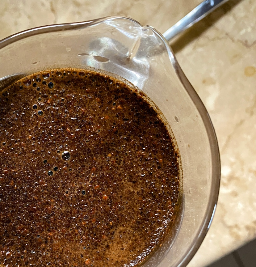 shareyourkape brewing pre-ground coffee