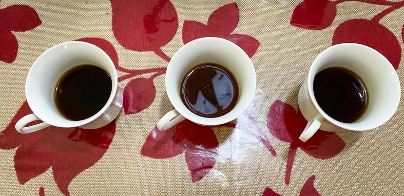 shareyourkape coffee taste experiment