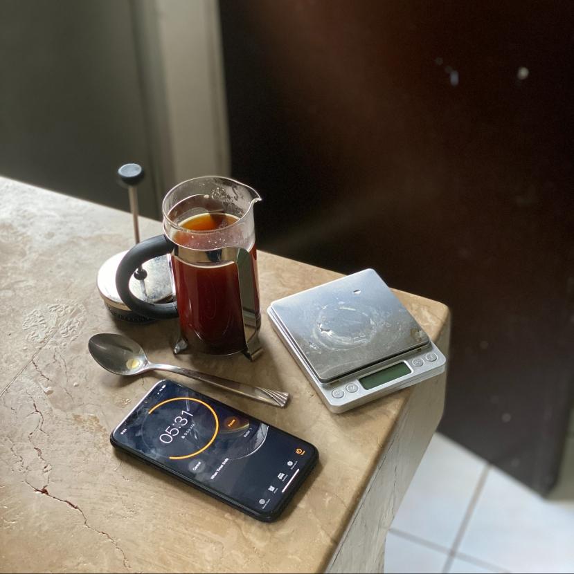 #sharyourkape #instantcoffee #hoffmanfrenchpress