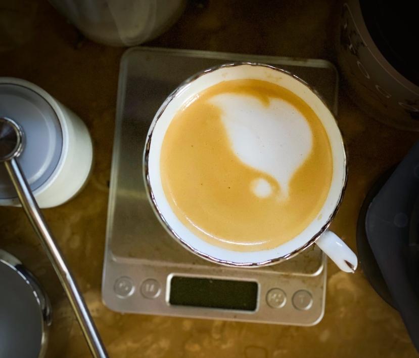 #shareyourkape #coffeeonlock #aeropressolatte