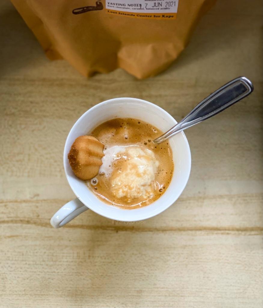 #shareyourkape #flairaffogato #flairespresso #lickelnido